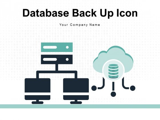 Database Back Up Icon Sync Sign Device Storage Ppt PowerPoint Presentation Complete Deck