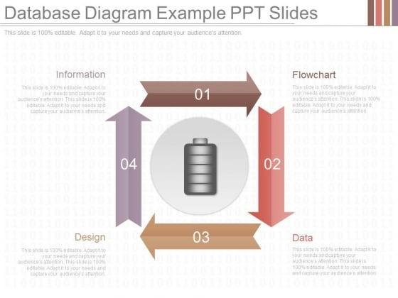 Database Diagram Example Ppt Slides