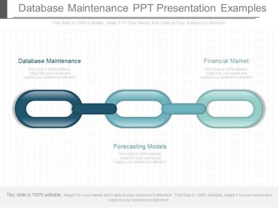 Database Maintenance Ppt Presentation Examples