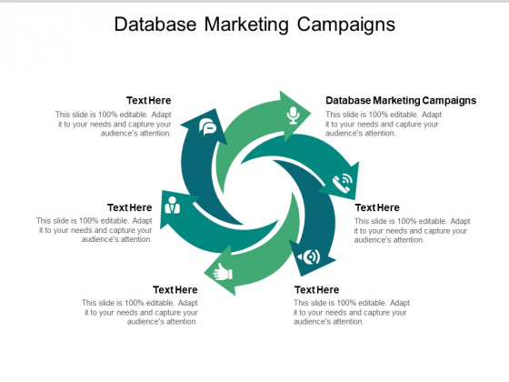 Database Marketing Campaigns Ppt PowerPoint Presentation Show Layouts Cpb Pdf