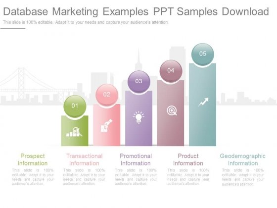database marketing examples ppt samples download powerpoint templates