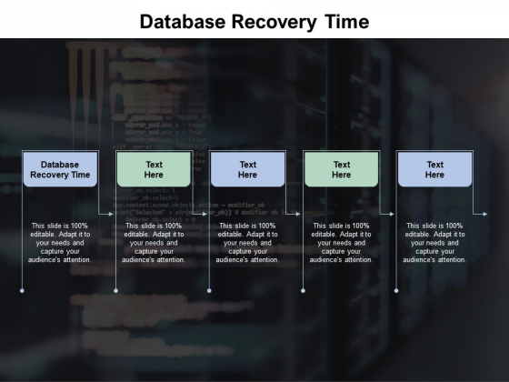 Database Recovery Time Ppt PowerPoint Presentation File Example File Cpb Pdf