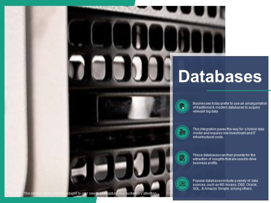 Databases Ppt PowerPoint Presentation Layouts Design Templates