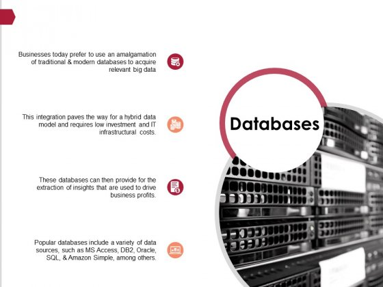 Databases Ppt PowerPoint Presentation Show Graphics Pictures