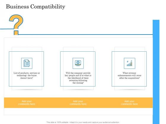 Deal Assessment Audit Process Business Compatibility Pictures PDF