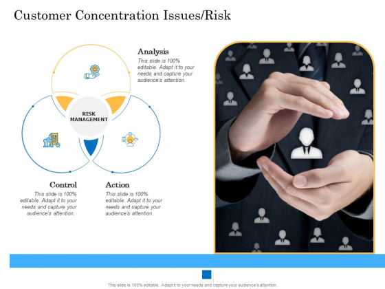 Deal Assessment Audit Process Customer Concentration Issues Risk Slides PDF