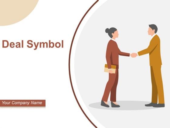 Deal Symbol Business Cash Credit Card Dollar Transaction Ppt PowerPoint Presentation Complete Deck