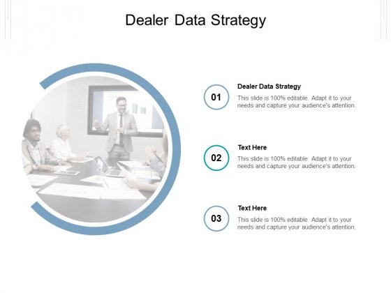 Dealer Data Strategy Ppt PowerPoint Presentation Show Slide Cpb Pdf