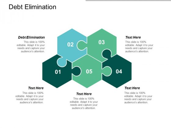 Debt Elimination Ppt PowerPoint Presentation Professional Show Cpb