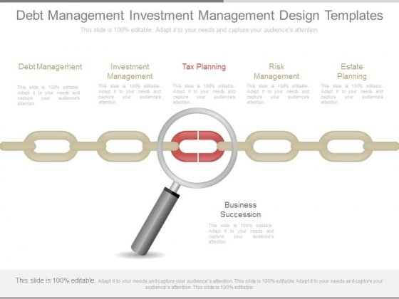 Debt Management Investment Management Design Templates