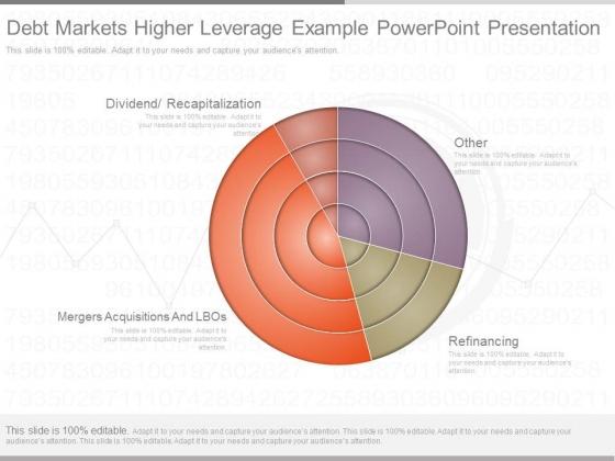 Debt Markets Higher Leverage Example Powerpoint Presentation