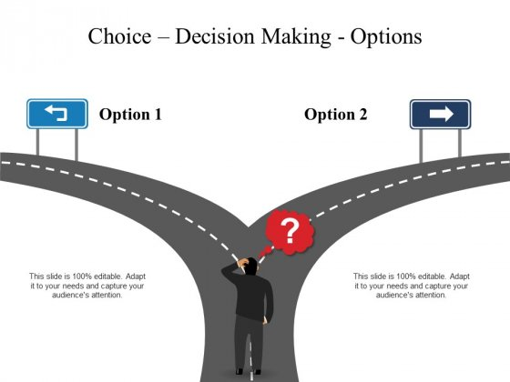 Decision Making Free PowerPoint Diagram