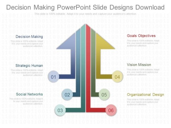 Decision Making Powerpoint Slide Designs Download