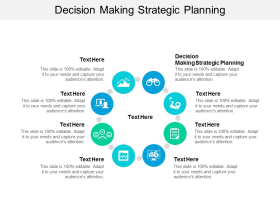 Decision Making Strategic Planning Ppt PowerPoint Presentation Styles Smartart Cpb