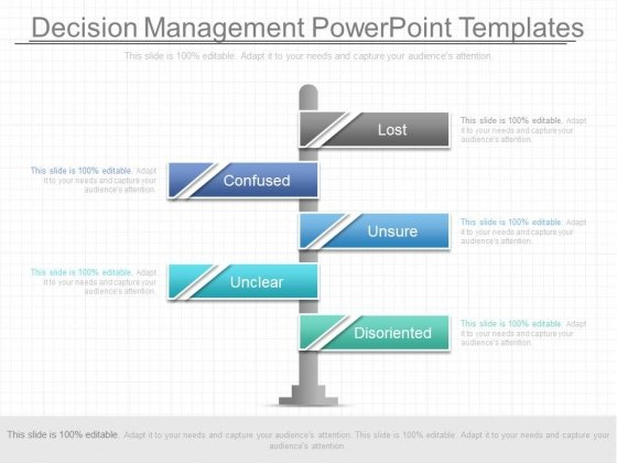 Decision Management Powerpoint Templates