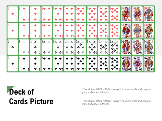 Deck Of Cards Picture Ppt PowerPoint Presentation Infographics Aids