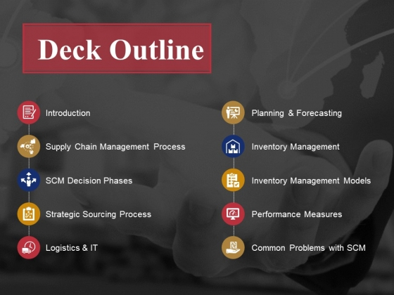 Deck Outline Ppt PowerPoint Presentation Inspiration Graphic Images