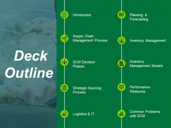 Deck Outline Ppt PowerPoint Presentation Layouts Portrait