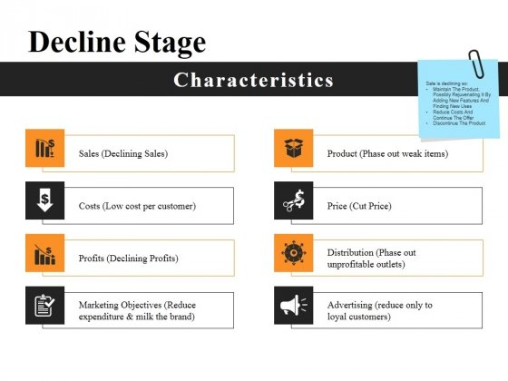 Decline Stage Ppt PowerPoint Presentation Summary Infographic Template