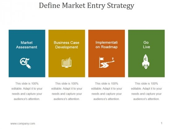 Define Market Entry Strategy Ppt PowerPoint Presentation Images