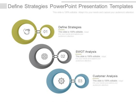 Define Strategies Powerpoint Presentation Templates