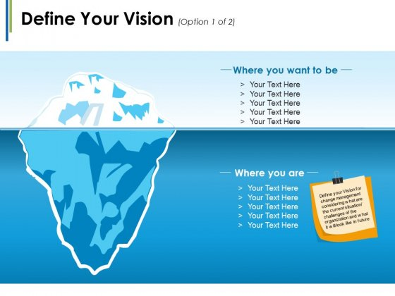 Define Your Vision Ppt PowerPoint Presentation Styles Graphics