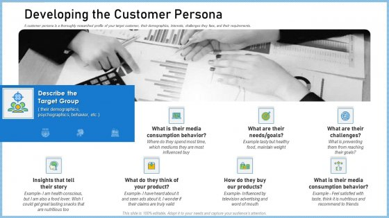 Definitive Guide Creating Content Strategy Developing The Customer Persona Inspiration PDF
