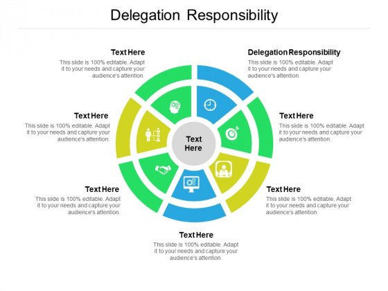 Delegation Responsibility Ppt PowerPoint Presentation Model Outfit Cpb