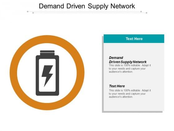 Demand Driven Supply Network Ppt PowerPoint Presentation Inspiration Sample
