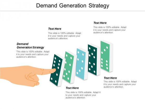 Demand Generation Strategy Ppt PowerPoint Presentation Pictures Slide Portrait Cpb