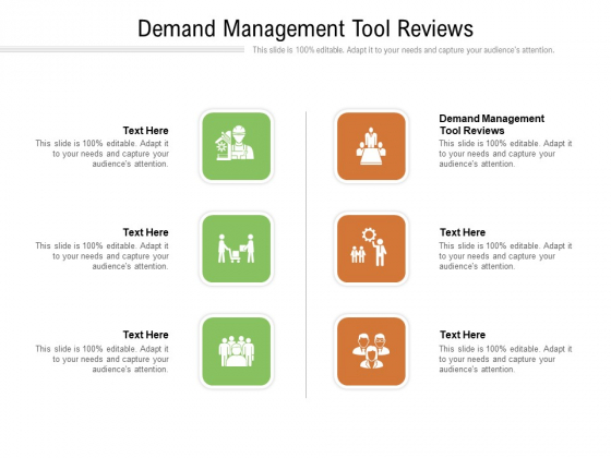 Demand Management Tool Reviews Ppt PowerPoint Presentation Gallery Cpb Pdf