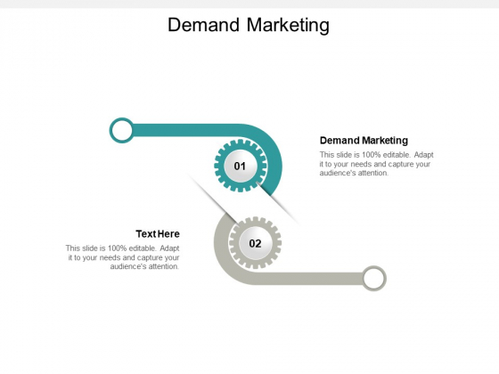 Demand Marketing Ppt PowerPoint Presentation Show Professional Cpb