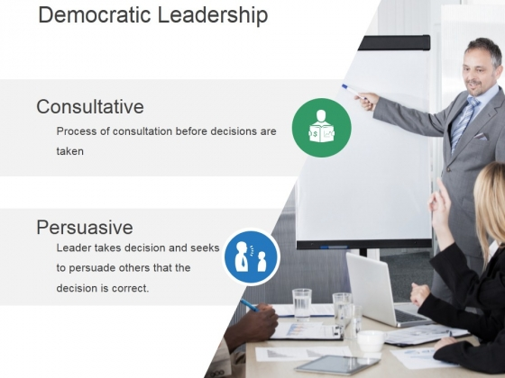 Democratic Leadership Ppt PowerPoint Presentation Graphics