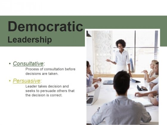 Democratic Leadership Ppt PowerPoint Presentation Rules