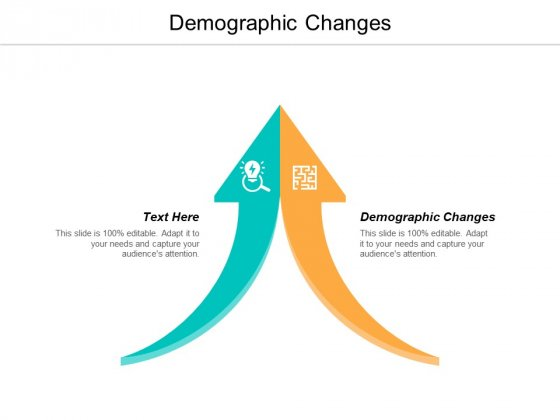 Demographic Changes Ppt PowerPoint Presentation Gallery Design Templates Cpb