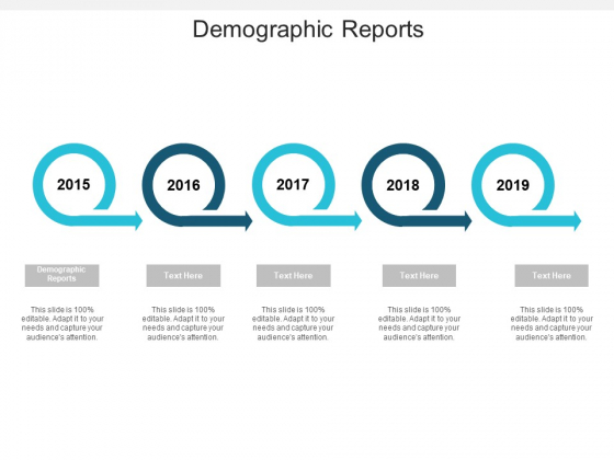 Demographic Reports Ppt PowerPoint Presentation Summary Demonstration Cpb