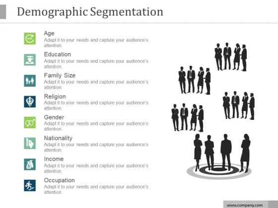 Demographic Segmentation Ppt PowerPoint Presentation Professional