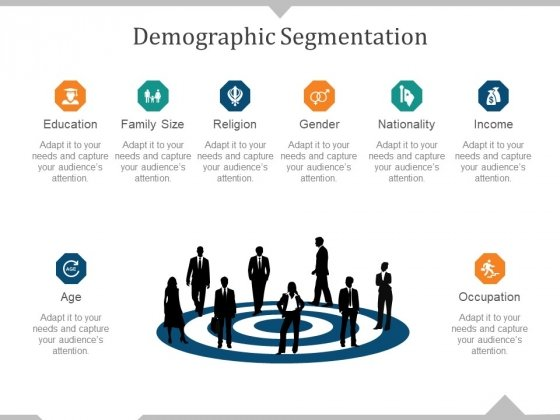 Demographic Segmentation Template 1 Ppt PowerPoint Presentation Slides Influencers
