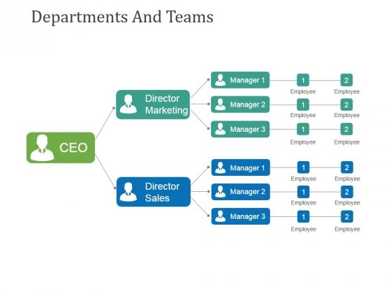Departments And Teams Template 1 Ppt PowerPoint Presentation Slides Graphic Tips