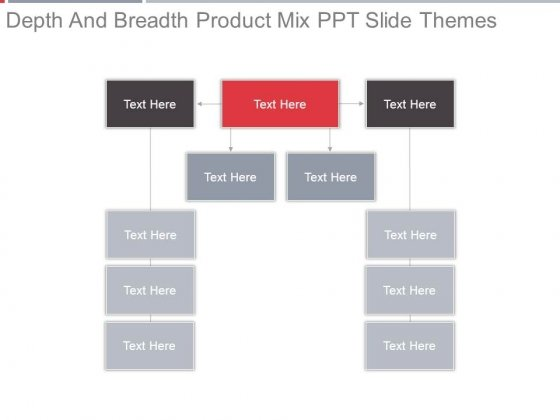 Depth And Breadth Product Mix Ppt Slide Themes