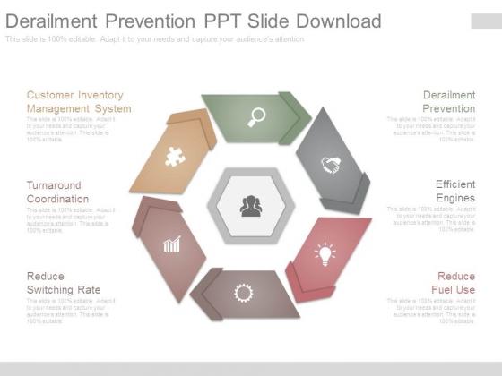 derailment prevention ppt slide download powerpoint templates