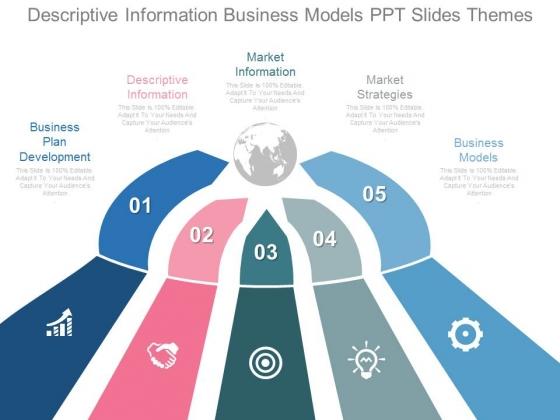 Descriptive Information Business Models Ppt Slides Themes