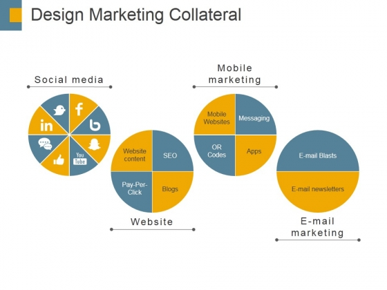 Design Marketing Collateral Ppt PowerPoint Presentation Infographics Inspiration