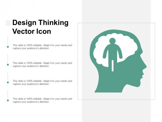 Design Thinking Vector Icon Ppt PowerPoint Presentation Icon Diagrams