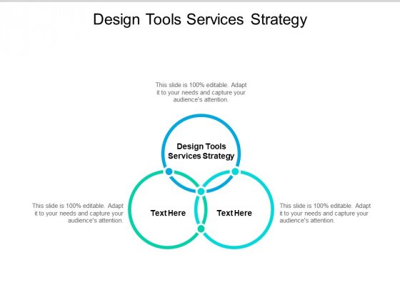 Design Tools Services Strategy Ppt PowerPoint Presentation Infographic Template Show Cpb