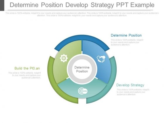 Determine Position Develop Strategy Ppt Example