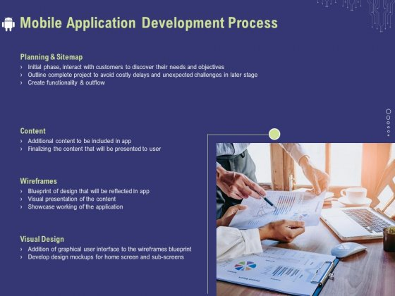 Develop Cellphone Apps Mobile Application Development Process Ppt PowerPoint Presentation Model Outline PDF