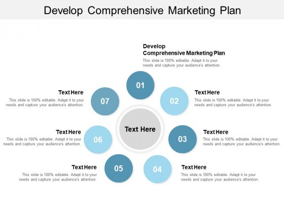 Develop Comprehensive Marketing Plan Ppt PowerPoint Presentation Infographic Template Clipart Images Cpb