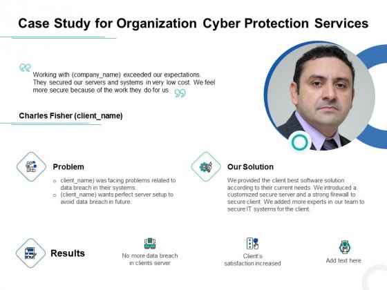 Develop Corporate Cyber Security Risk Mitigation Plan Case Study For Organization Cyber Protection Services Themes PDF Sample PDF
