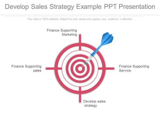 Develop Sales Strategy Example Ppt Presentation - PowerPoint Templates